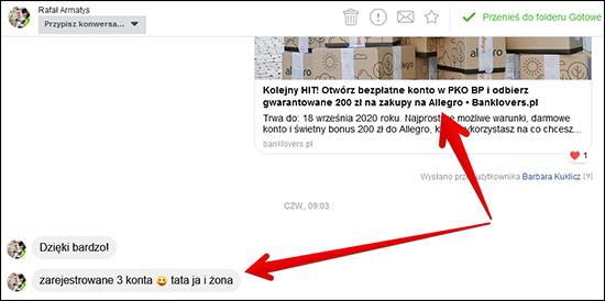 Hit Powrocil Odbierz 200zl Do Allegro Za Otwarcie Konta W Pko Bp I Wykonanie Tylko 6 Platnosci Banklovers Pl